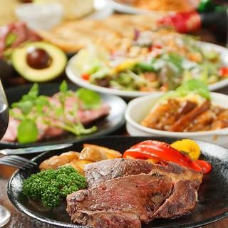 料理長自慢の厳選黒毛和牛を使ったお料理をご堪能ください