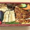 西村川魚店 - 料理写真:蒲焼と白焼きのハーフ&ハーフ丼