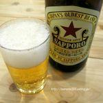 72217460 - ●瓶ビールはSAPPORO!。いいね~」。