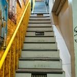 マーブル - 細い階段を抜けるとおしゃれなカフェが、、