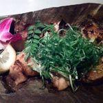 名古屋コーチンと個室居酒屋 天錦  梅田本店 - 熟成鶏の西京味噌焼き(コース料理のさつきコース)