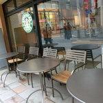 スターバックス・コーヒー - オープンテラス