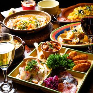 カタプラーナやバカリャウをつかった本物のポルトガル料理♪