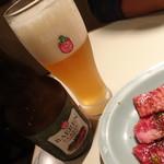 食道園 - ビール
