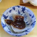 72223617 - 小鉢(味噌こんにゃく)