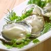 旬の生牡蠣とスパークリング