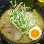 さっぽろ麺屋 文太郎 - 味噌ラーメン+ネギ