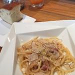 OTTAVO DEL BOTTEGON - 豚ほほ肉とパルメザンチーズ サマートリュフ