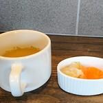 カレー工房ギャー - スープと薬味