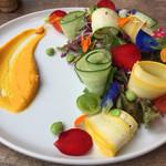 フィオリータ - お花畑のようなサラダ