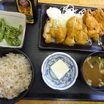 ポンポコ食堂 - チキンカツ定食