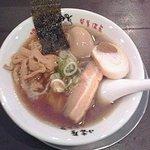 72234843 - 醤油ラーメン:650円+煮玉子:100円(各税込)【2017年8月撮影】