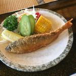 揖斐川丘苑 - 鮎のフライ