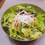 シジャン - 料理写真:チョレギサラダ