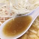 72238696 - 煮干しスープ