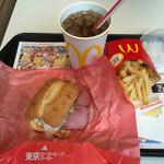 マクドナルド - 東京ローストビーフバーガー、マックポテト、コーラ