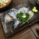 まるよし - 料理写真:しめサバ