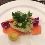 レストラン風 - 料理写真:サーモンのマリネ
