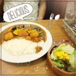 鎌倉野菜と季節の野菜のカレー