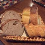 72241281 - チャージは3種類のパン 500円