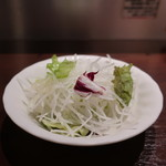 いきなり!ステーキ - 大根、レタス、トレビスのサラダ