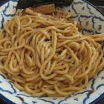 兎に角アナザーリーフ - 麺を混ぜると(2017.8.3)