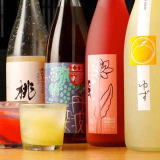 お肉に合うワインのほか、希少な日本酒や定番ドリンクも充実。