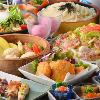 春夏秋冬、比内地鶏&秋田名物をたくさん食べるならコースで