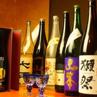 【レア酒満載】秋田の豊かな大地で育った日本酒がズラリ。