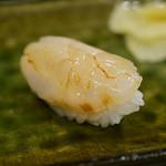 鮨かねみつ - ホタテ