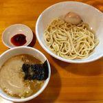 永太 - 「つけ麺」800円+味玉、「辛味」100円