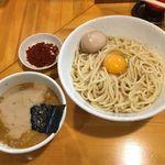 永太 - 「つけ麺」800円+「生卵」50円+「辛味」100円+味玉