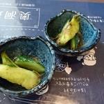 和楽来 - ベジファースト用の胡瓜のおかか和え
