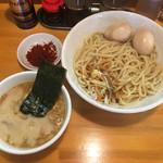 永太 - 「つけ麺」800円にサービス味玉2ケ