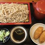 やぶ福 - もりそば・いなり寿司 (¥907-)