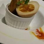 72249124 - 半熟卵の薫製 390円
