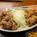 72250431 - 豚の生姜焼き&鳥から揚げ