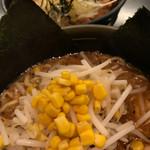 ど・みそ - お昼のセット(こってり味噌ラーメン・炙り焼豚丼)
