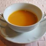 ビストロヒマワリ - バターナッツの冷製スープ