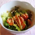 ビストロヒマワリ - グリーンサラダ