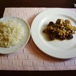 ビストロヒマワリ - オーストラリア産オーガニックビーフストロガノフ&ライス(胚芽米)