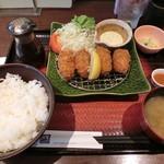 大戸屋 - カキフライ定食891円