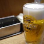 串かつ でんがな - 生ビール~☆