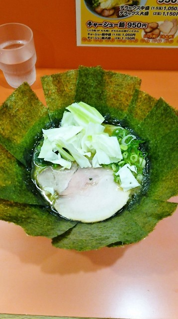 ラーメン よし家 - ラーメン750円麺硬め。海苔増し100円。