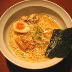 屋台らぁ麺 流れ星☆ - 料理写真:限定らぁ麺「鯛塩そば(限定10食)」いい値