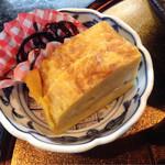 SAKE - 玉子焼き、シソ昆布