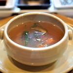 ビフテキのカワムラ - 特製テールスープ