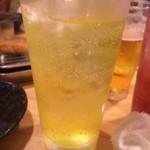 ひょうたん - リアルゴールド酎ハイ