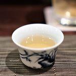中国名菜酒家 つる見 - 食前の薬膳茶