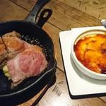 THE MEAT ANGUS - イベリコ豚のオーブン焼き&カタラーナ